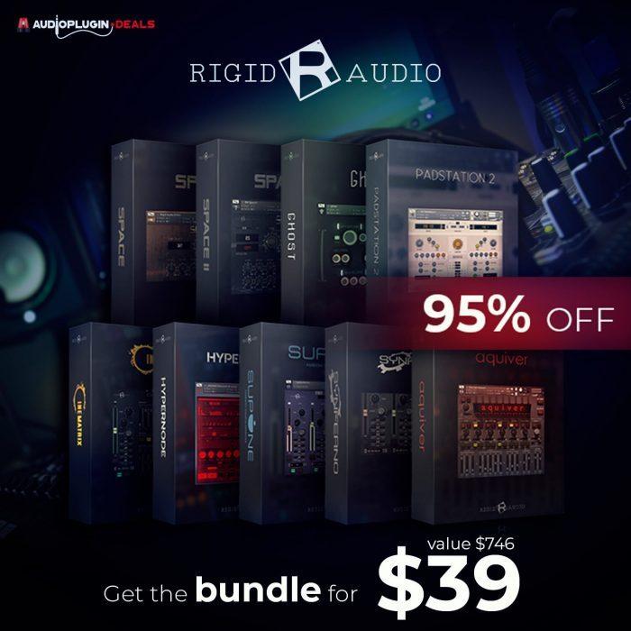 Audio Plugin Deals Rigid Audio Bundle