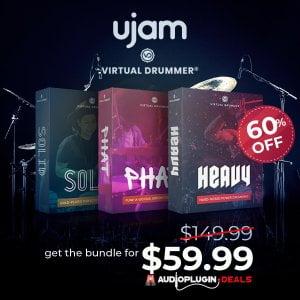 Audio Plugin Deals UJAM Virtual Drummer Bundle