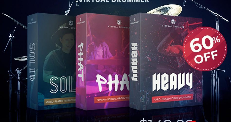 Audio Plugin Deals UJAM Virtual Drummer Bundle
