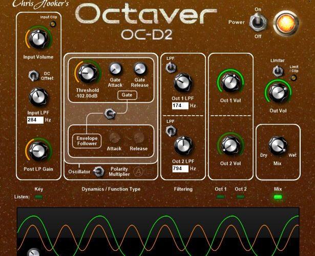 Chris Hooker Octaver OC D2
