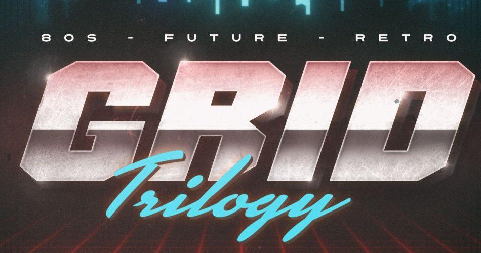 F9 Audio Grid Trilogy 80s Future Retro for Logic Pro X
