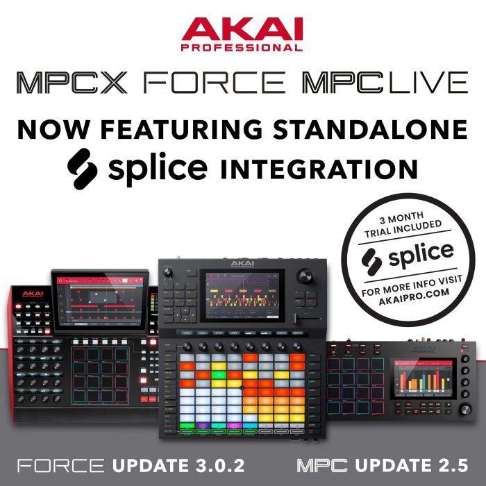 Force, MPCX, MPC Live X Splice SG