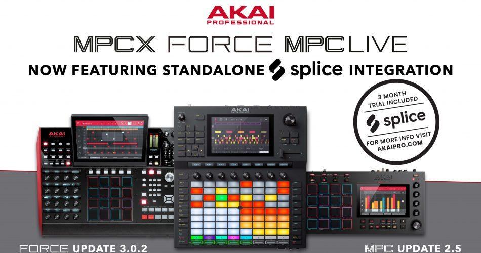 Force, MPCX, MPC Live X Splice WB