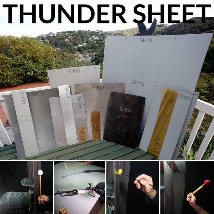 HISS and a ROAR Thunder Sheet
