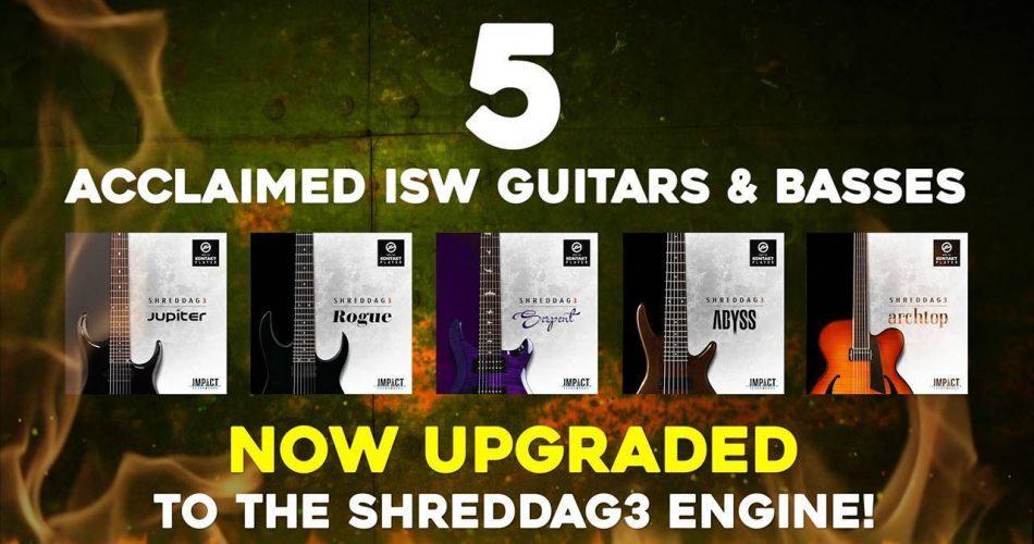 Impact Soundworks Shreddage 3 update