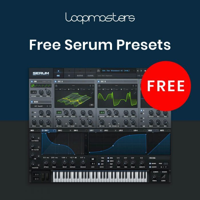 Loopmasters Free Serum Presets