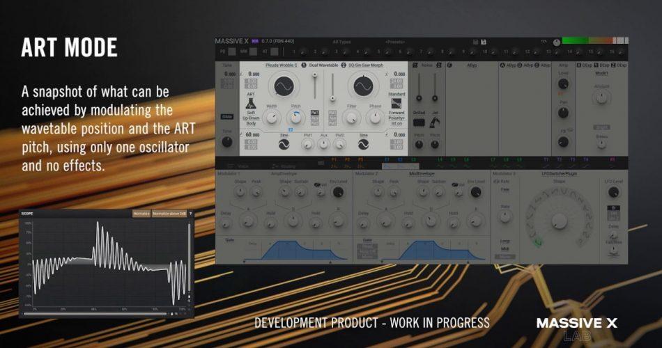 NI Massive X oscillator ART