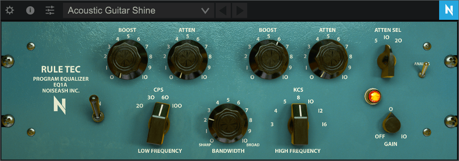 NoiseAsh Rule Tec EQ1A