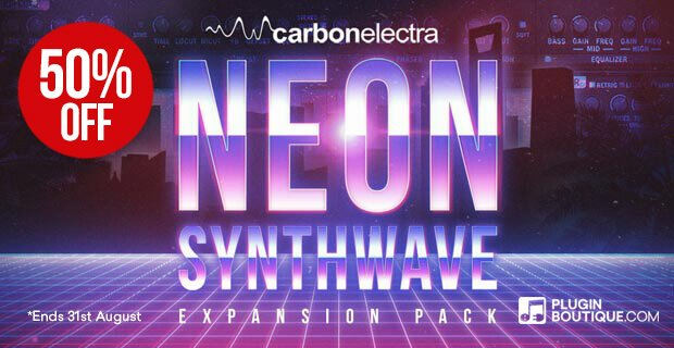 Save 50% on Neon Synthwave