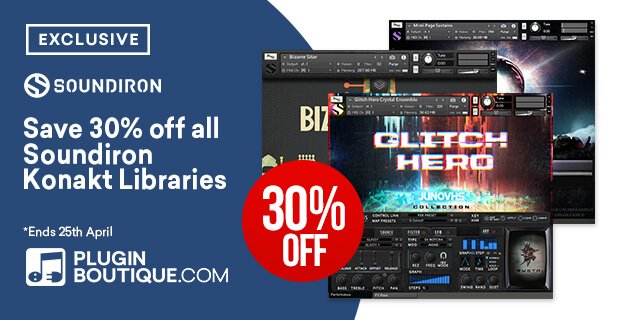 PIB Soundiron Easter Sale