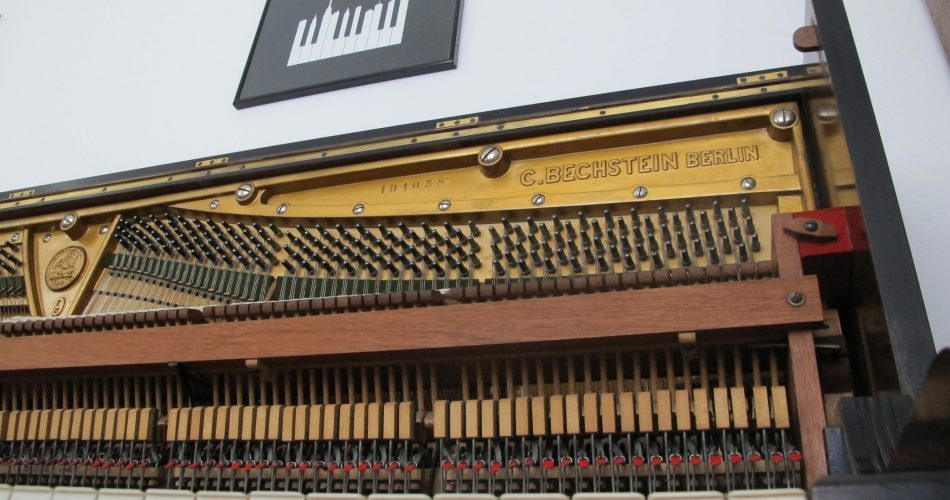 Piano Book 1911 Bechstein Upright feat