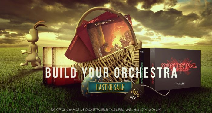 Save 50% in ProjectSAM's Easter Sale + New Free Orchestra instruments