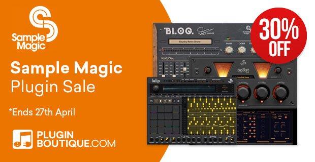 Sample Magic Plugins 30 OFF