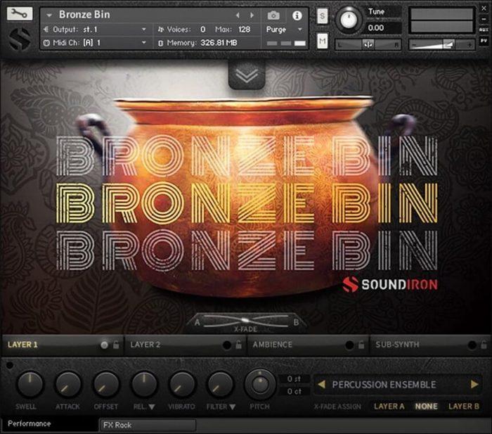 Soundiron Bronze Bin