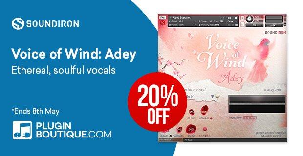 Soundiron Voice of Wind Adey 20 OFF