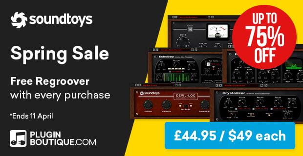 Soundtoys Spring Sale 75 OFF