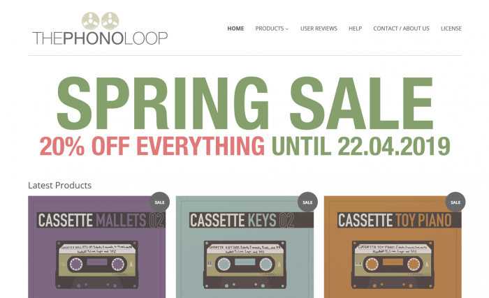 Thephonoloop Spring Sale