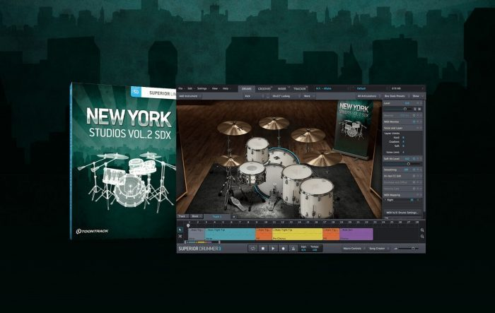 Toontrack New York Studios Vol2 SDX