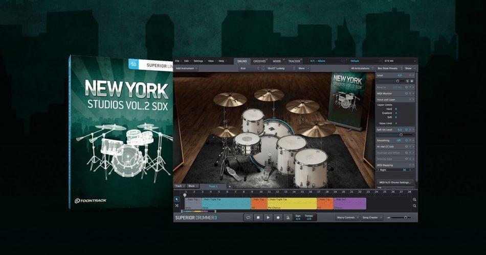 Toontrack New York Studios Vol2 SDX