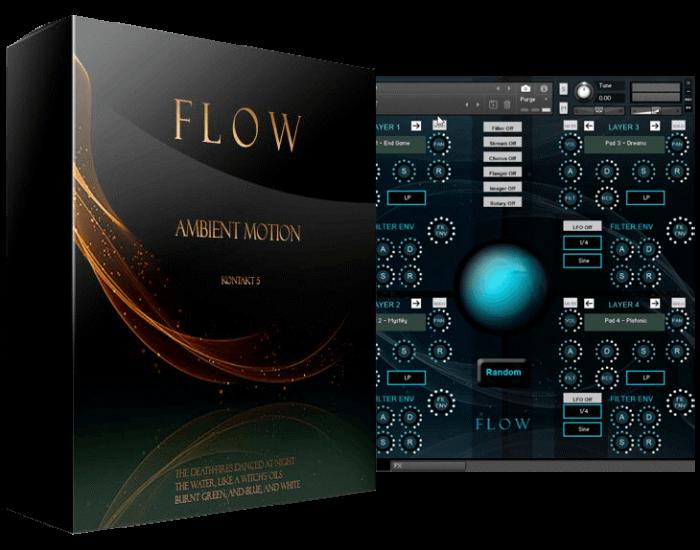 Triple Spiral Audio Flow