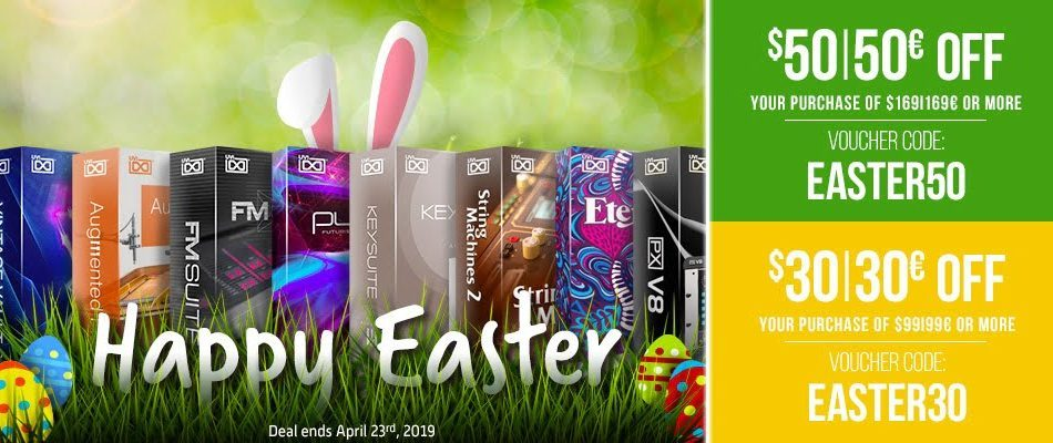 UVI Easter Sale 2019