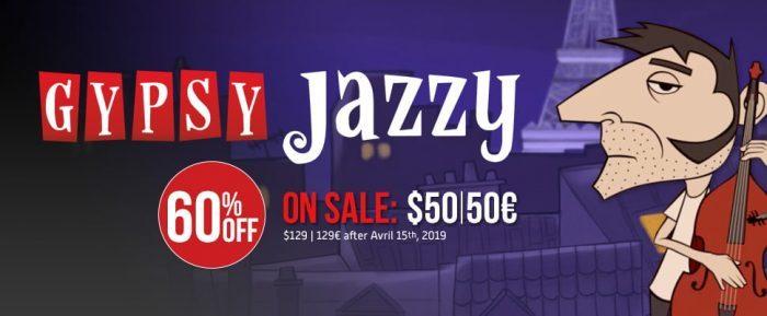 UVI Gypsy Jazzy 60 OFF