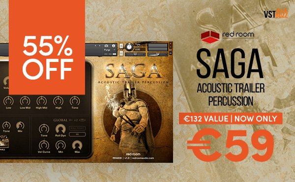 Saga Acoustic Trailer Percussion