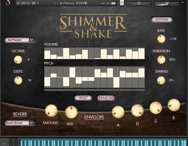 VST Buzz Shimmer and Shake