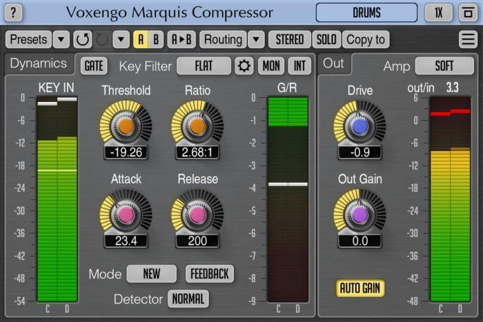 Voxengo Marquis Compressor