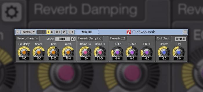 Voxengo OldSkoolVerb 2.5