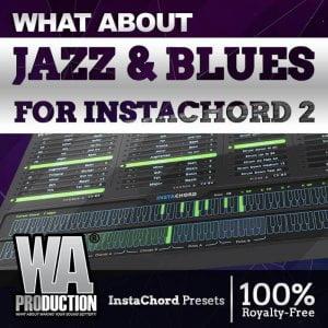WA Production Jazz & Blues for InstaChord 2
