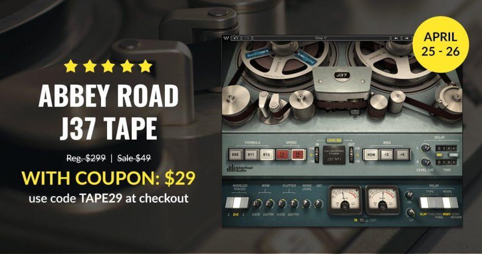 Waves Abbey Road J37 Tape sale