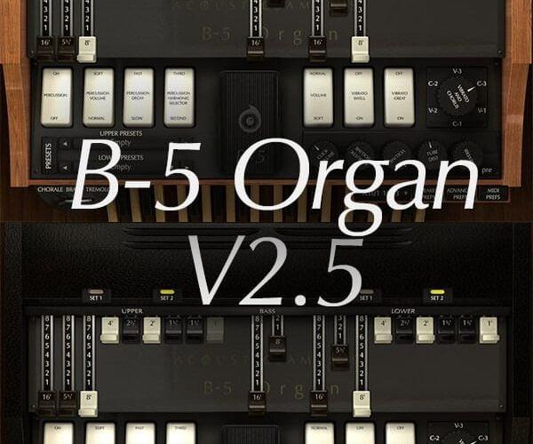 Acousicsamples B 5 Organ v2.5