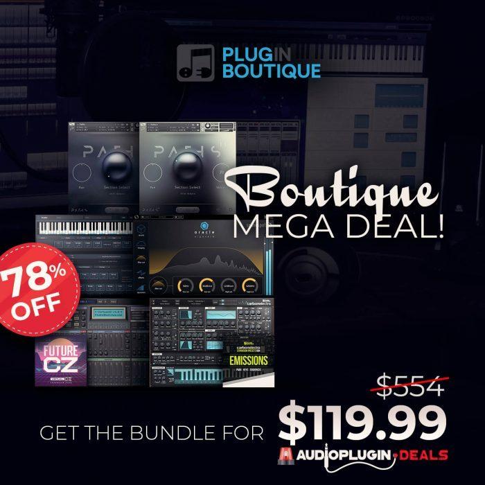 Audio Plugin Deals Boutique Mega Deal