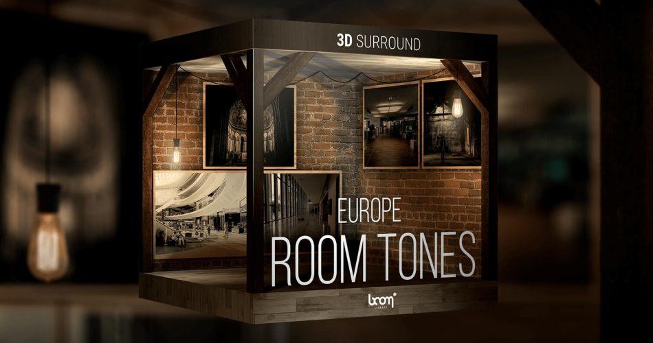 BOOM Library Room Tones Europe
