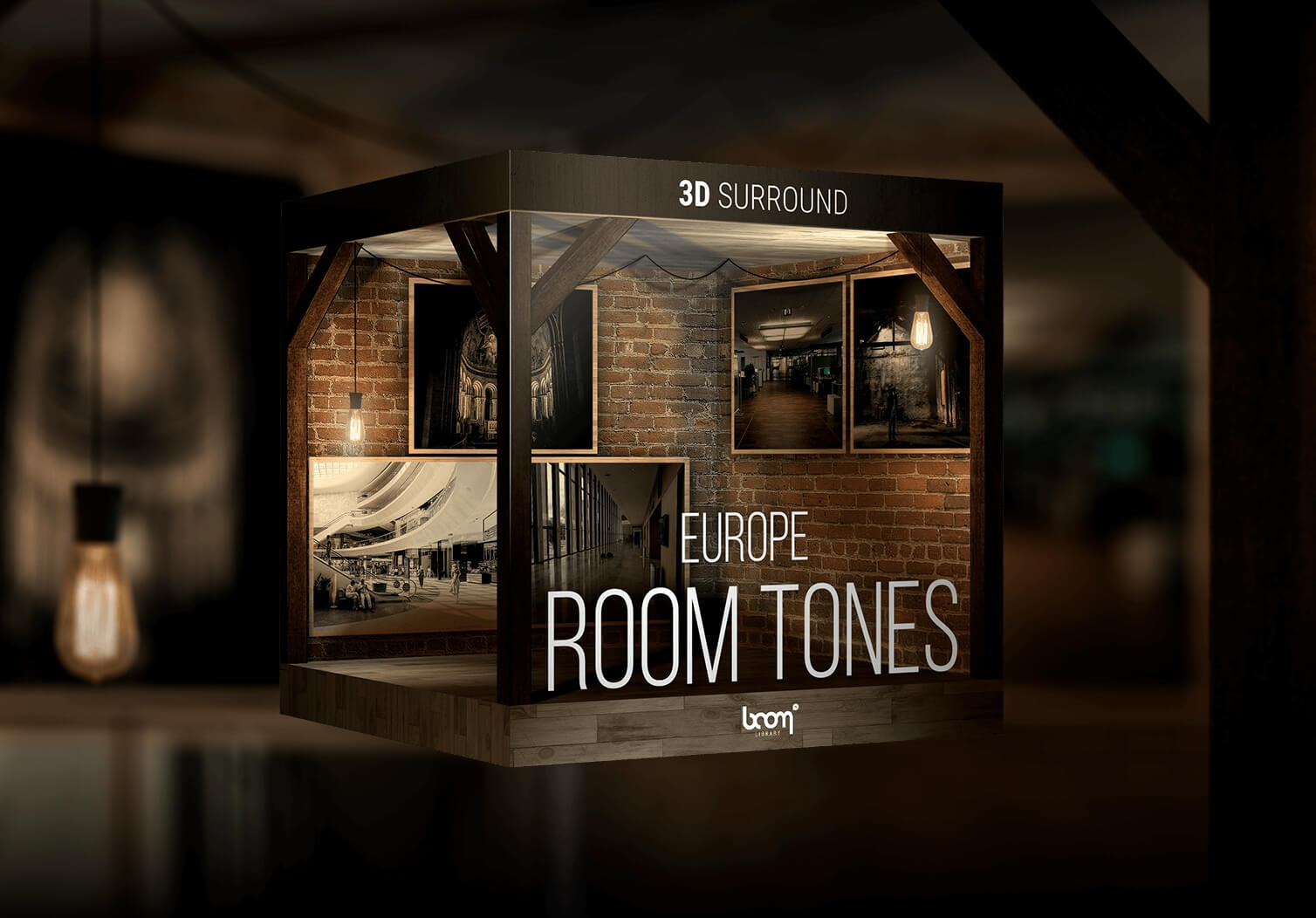 boom library releases room tones europe 3d surround series sound library. Black Bedroom Furniture Sets. Home Design Ideas