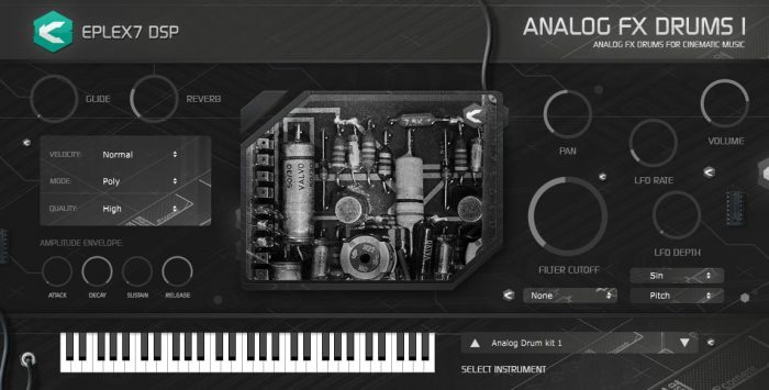 Eplex7 Analog FX drums1