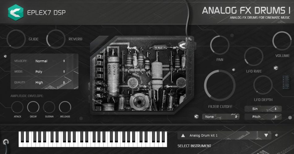 Eplex7 Analog FX drums1