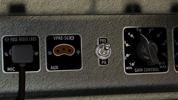 Fuse Audio Labes VPRE-562A vintage tube pream