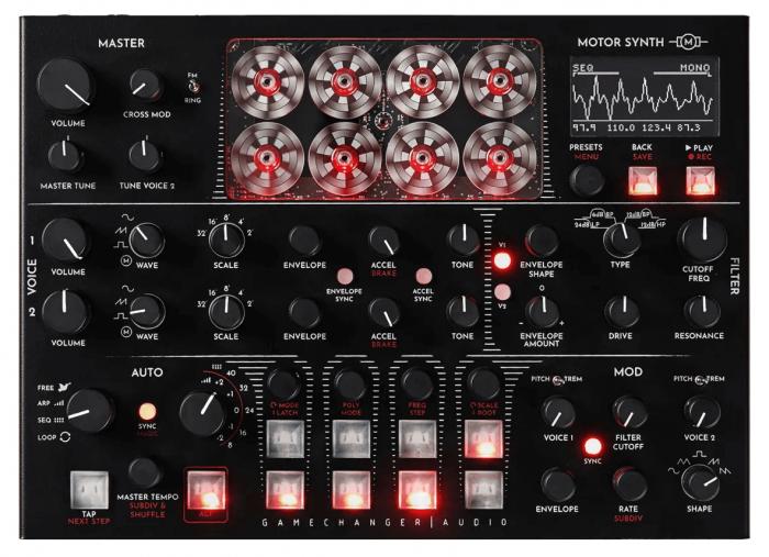 Gamechanger Audio Motor Synth (top)