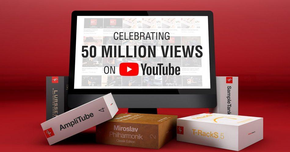 IK Multimedia Krazy Deal 50M YouTube