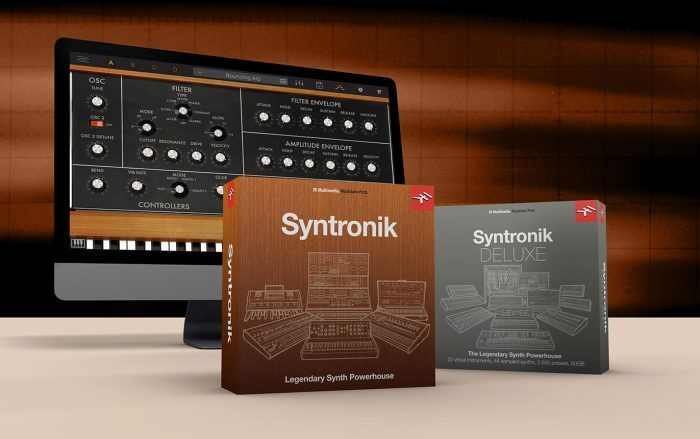 IK Multimedia MIDI Month Syntronik
