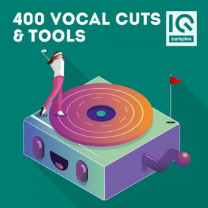 IQ Samples 400 Vocal Cuts & Tools