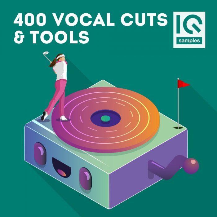 IQ Samples 400 Vocal Cuts & Tools
