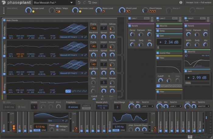 Kilohearts Phase Plant Screenshot
