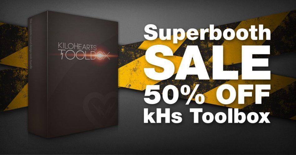Kilohearts kHs Toobox 50 OFF Superbooth