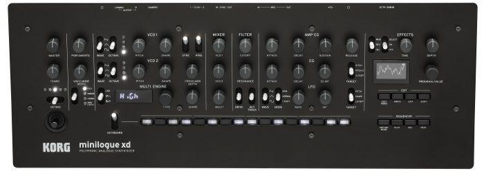 Korg minilogue xd module top