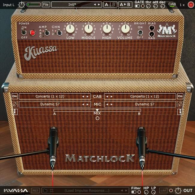 Kuassa Amplifikation Matchlock