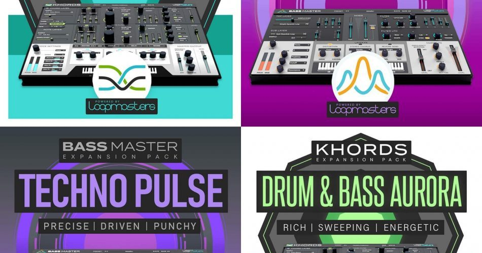 Loopmasters Khords and Bass Master expansions