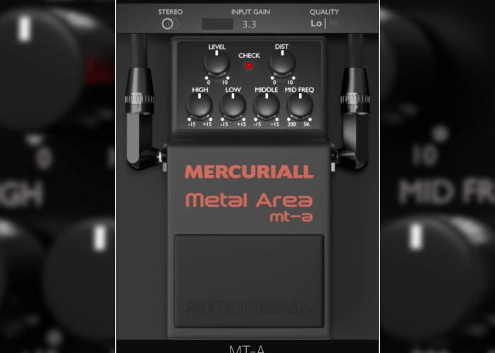 Mercuriall Audio Metal Area MT A